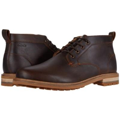 クラークス Clarks メンズ ブーツ シューズ・靴 Foxwell Mid Beeswax Leather