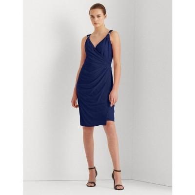 ラルフローレン ワンピース トップス レディース Jersey Sleeveless Dress Navy Blue