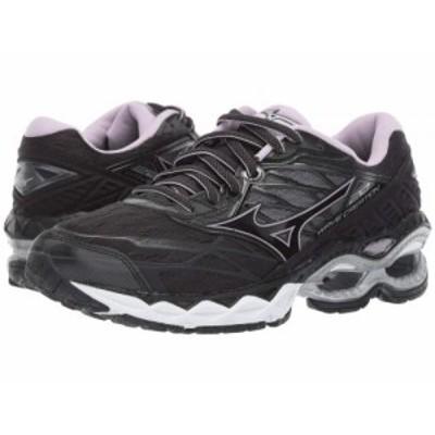 Mizuno ミズノ レディース 女性用 シューズ 靴 スニーカー 運動靴 Wave Creation 20 Black【送料無料】