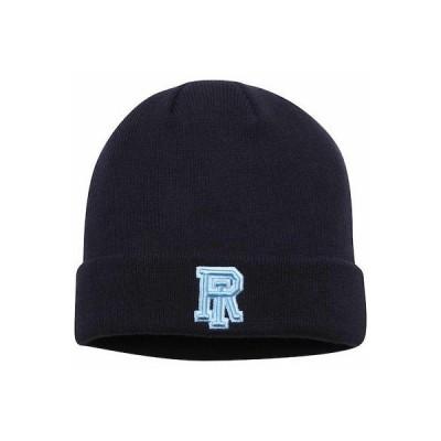 大学 NCAA トップオブザワールド Top of the World Rhode Island Rams Navy Jack Frost Cuffed Knit Hat