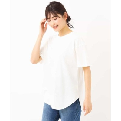 a.v.v/アー・ヴェ・ヴェ ビッグシルエットTシャツ ホワイト 36