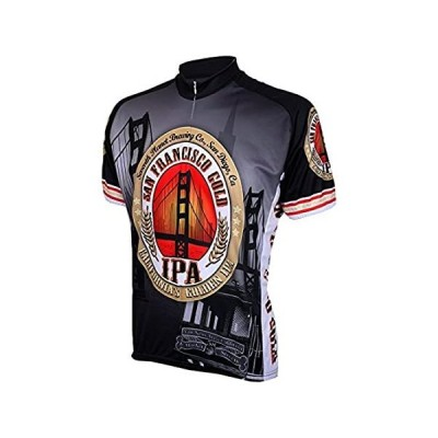 San Francisco Gold IPA Mens Cycling Jersey Bike Bicycle