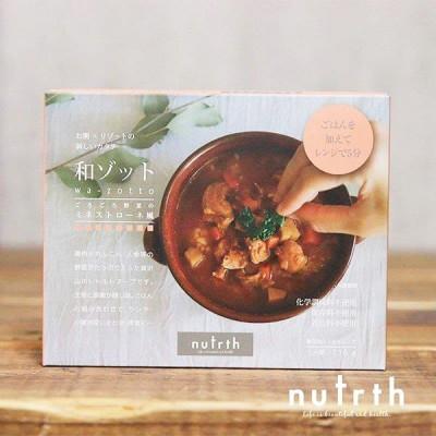 nutrth(なとりす) 和ゾット ごろごろ野菜のミネストローネ風 210g