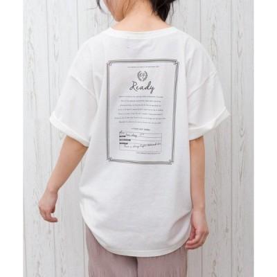 tシャツ Tシャツ BACKレタープリント Tシャツ