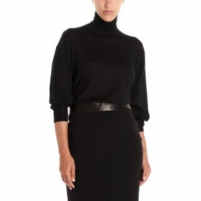 TOM FORD/トム フォード Black   Cashmere mixed silk sweater レディース 秋冬2020 MAK901YAX087LB999 ju