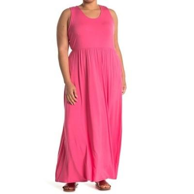 ウエスト ケイ レディース ワンピース トップス Sleeveless Knit Maxi Dress HOT PINK