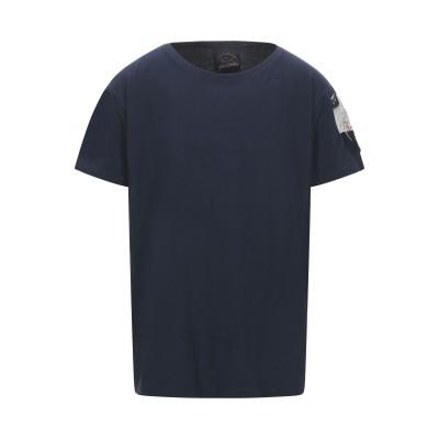 ポール・アンド・シャーク PAUL & SHARK T シャツ ダークブルー S コットン 100% T シャツ