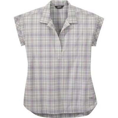 アウトドアリサーチ レディース シャツ トップス Outdoor Research Women's Amber Ale SS Shirt Moonstone