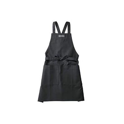 ギフト プレゼント最適 ディーン&デルーカ DEAN&DELUCA☆エプロン 前掛け タブリエ 胸当て クッキング 料理 キッチン ブラック ナチュラ