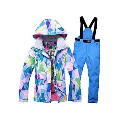 YEEFINE Women's Ski Jacket and Pants Set Waterproof Windproof Snowboard Sno