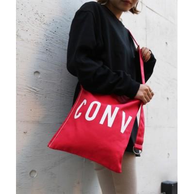 JUGLANS / CONVERSE ROUNDLOGO SHOULDER BAG WOMEN バッグ > ショルダーバッグ