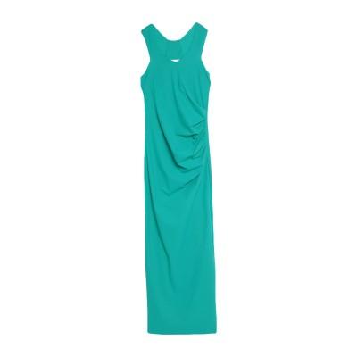 パトリツィア ペペ PATRIZIA PEPE ロングワンピース&ドレス グリーン 1 ナイロン 80% / ポリウレタン 20% ロングワンピース