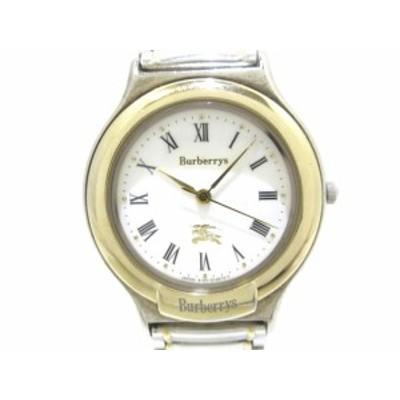 バーバリーズ Burberry's 腕時計 6031-G03600TA レディース 白【中古】20201020