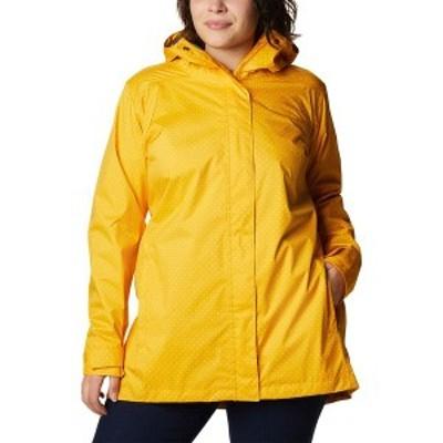 コロンビア レディース ジャケット・ブルゾン アウター Splash A Little II Jacket Bright Gold Spacey Dot Print