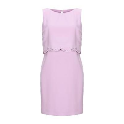 ELISA FANTI ミニワンピース&ドレス ライラック 42 ポリエステル 100% ミニワンピース&ドレス