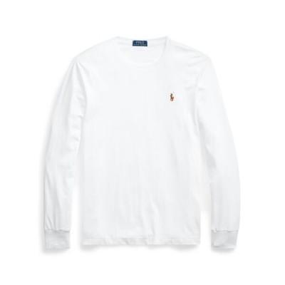 POLO RALPH LAUREN/ポロ ラルフ ローレン カスタム スリムソフト コットン Tシャツ 100ホワイト XXL