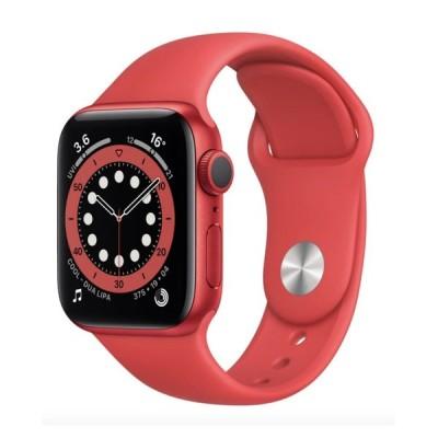香港版 アップルウォッチ Apple Watch Series 6 GPS 40mm Product Red Aluminium M00A3 スポーツバンド