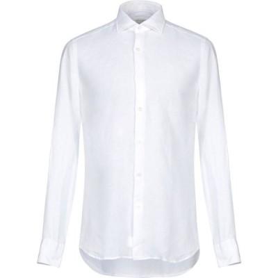 グリエルミノッティ GUGLIELMINOTTI メンズ シャツ トップス Linen Shirt White
