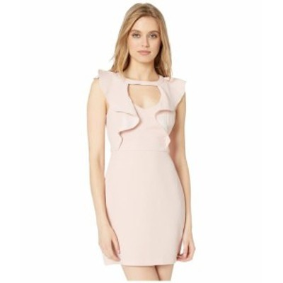BCBGeneration ビーシービージェネレーション ドレス 一般 Cocktail Peek-A-Boo Ruffle Woven Dress