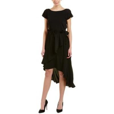 ランドリーバイシェリーシーガル レディース ワンピース トップス Laundry by Shelli Segal Midi Dress black