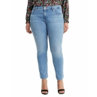 リーバイス レディース デニムパンツ ボトムス Plus Size 311 Shaping Skinny Jeans Oahu Morning Dew
