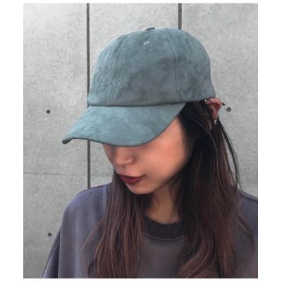 (ANAP/アナップ)フェイクスエード刺繍キャップ/レディース ブルー