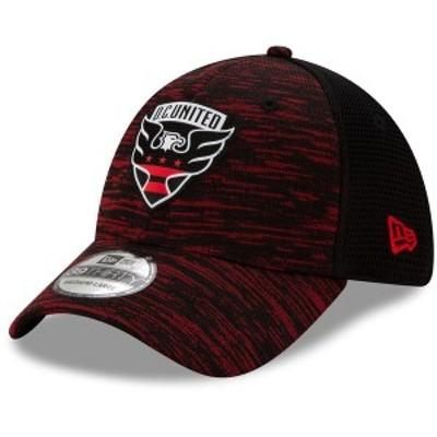 ニューエラ メンズ 帽子 アクセサリー D.C. United New Era On-Field Collection 39THIRTY Flex Hat Black