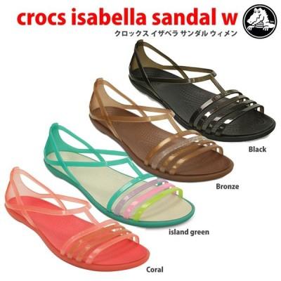 セール クロックスcrocs【crocs isabella sandal w/クロックスイザベラサンダルウィメン】 【クロックス国内正規取り扱い】