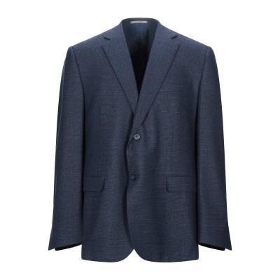 RAVAZZOLO テーラードジャケット ダークブルー 52 ウール 100% テーラードジャケット