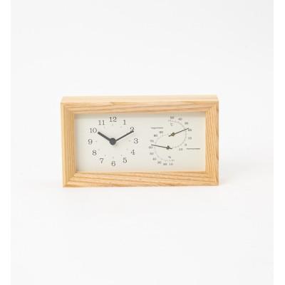 【コレックス/collex】 【Lemnos /レムノス】FRAME 温湿度計時計