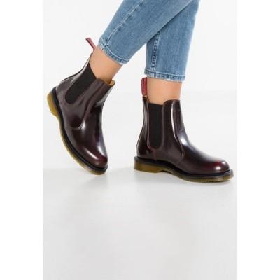 ドクターマーチン ブーツ&レインブーツ レディース シューズ FLORA CHELSEA BOOT ARCADIA - Classic ankle boots - rot