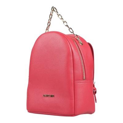 ラブ モスキーノ LOVE MOSCHINO バックパック&ヒップバッグ レッド 紡績繊維 バックパック&ヒップバッグ