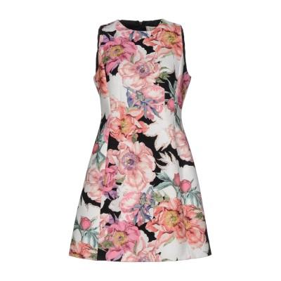 VDP COLLECTION ミニワンピース&ドレス ピンク 40 ポリエステル 100% ミニワンピース&ドレス