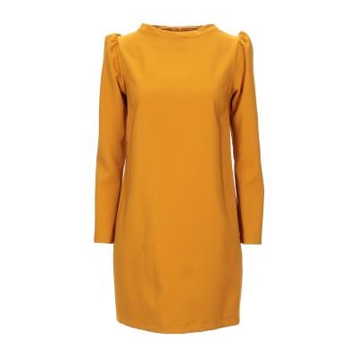 KAOS JEANS ミニワンピース&ドレス オークル 42 ポリエステル 88% / ポリウレタン 12% ミニワンピース&ドレス