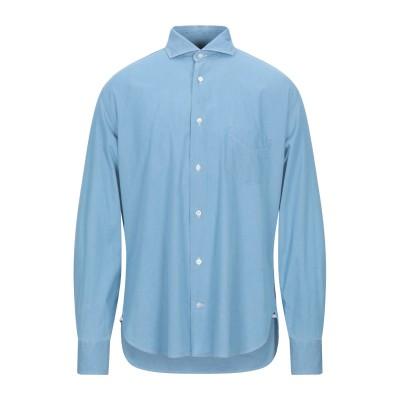 ダノリス DANOLIS デニムシャツ ブルー 38 コットン 100% デニムシャツ