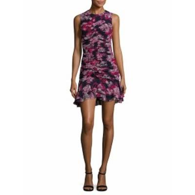 カミラアンドマーク レディース ワンピース Grenadine Ruched Floral Mini Dress