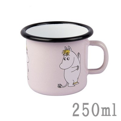 ムーミン グッズ フローレン マグカップ コップ 250ml MOOMIN × muurla ムーミンマグ ホーロー スモール 食器 北欧 プレゼント ギフト おしゃれ かわいい