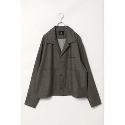 【ヴァンスシェアスタイル/VENCE share style】 綿麻ビッグシルエットジャケット