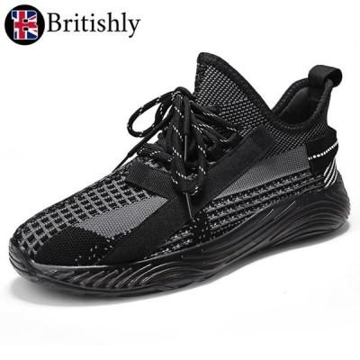 Britishly(ブリティッシュリィ) Morrisons Black 6cmアップ 英国式シークレットシューズ