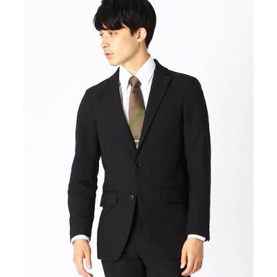 【コムサイズム】 ★TV媒体着用商品★  ツイルストレッチ ジャケット メンズ ブラック XL COMME CA ISM