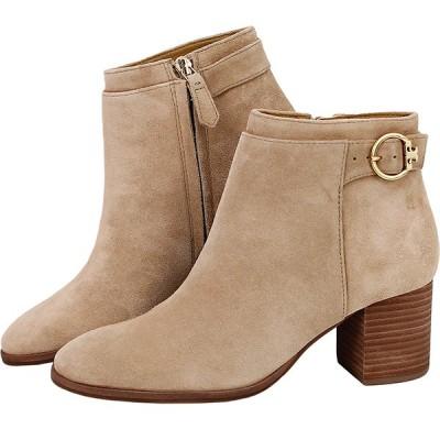 トリーバーチ 靴 ブーティ 50895 ソフィア 23cm サンド 6192
