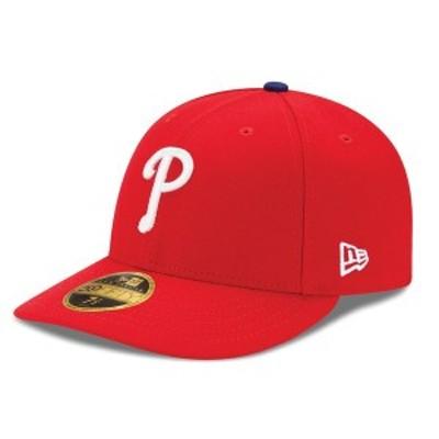ニューエラ メンズ 帽子 アクセサリー Philadelphia Phillies New Era Authentic Collection On Field Low Profile Game 59FIFTY Fitted