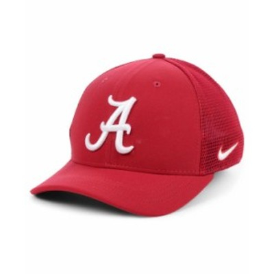 ナイキ メンズ 帽子 アクセサリー Alabama Crimson Tide Aerobill Mesh Cap Crimson