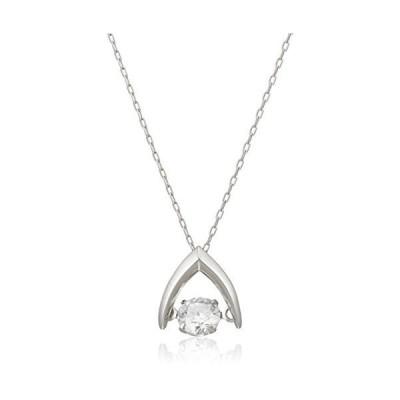 ディーコレクション D-COLLECTION プラチナ ダンシングダイヤモンドネックレス 0.2ct DN13160A