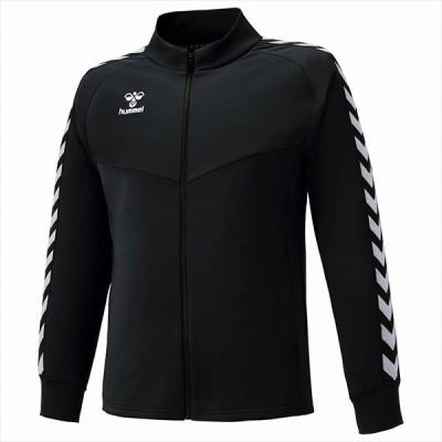 [hummel]ヒュンメル チームウォームアップジャケット (HAT2098)(90) ブラック[取寄商品]
