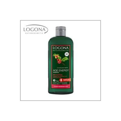 LOGONA〈ロゴナ〉エイジエナジー シャンプー<カフェ> 250ml