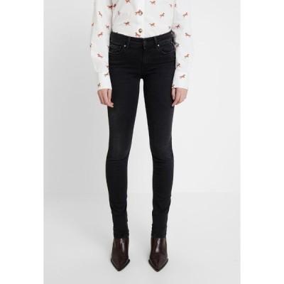 リプレイ デニムパンツ レディース ボトムス LUZ HIGH WAIST HYPERFLEX CLOUDS - Jeans Skinny Fit - black