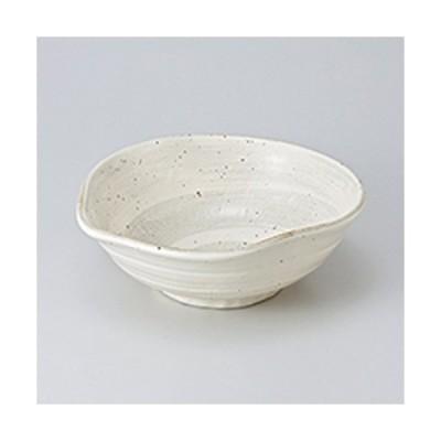 多用鉢 和食器 / 渦刷毛片口大鉢 寸法:22 x 20.5 x 8cm