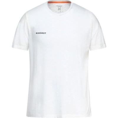マムート MAMMUT メンズ Tシャツ トップス t-shirt White