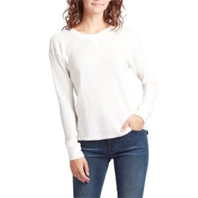 ルーカ レディース Tシャツ トップス RVCA Cited Shirt - Women's Vintage White